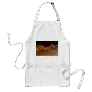 Kitchen apron who Niger ode market place at night