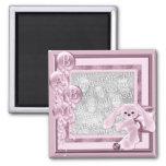 KRW Custom Baby Girl Photo Magnet