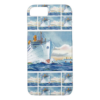 Kungsholm and Gripsholm at Sea iPhone 7 Case
