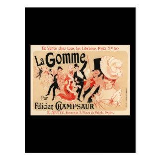 La Gomme Postcard