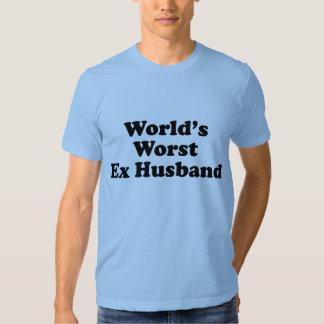 La meilleure épouse ex du monde t shirts