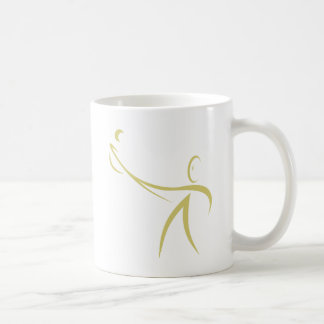 Lacrosse Player Icon Classic White Coffee Mug