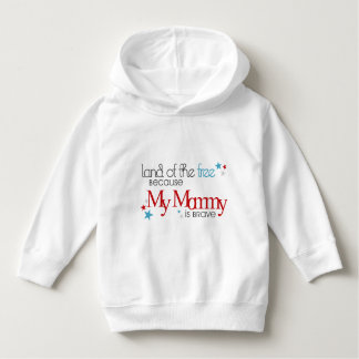 Land of the Free, Because my Mommy is Brave Tee Shirt
