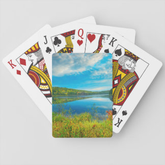Landscape of Costello Lake Playing Cards