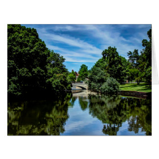 Landscape picture taken at Turtle Creek Dallas, TX Big Greeting Card