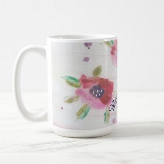Large Floral Mug