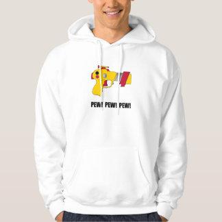 Laser Gun Pew Hooded Sweatshirts