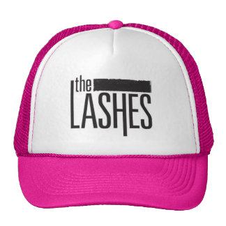 LASHES HAT! TRUCKER HAT