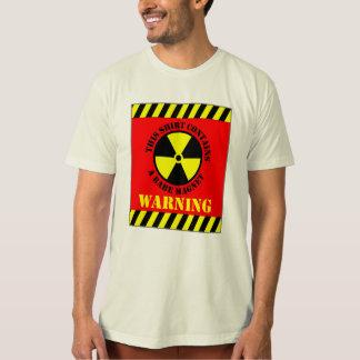 L'avertissement de cette chemise contient des tshirt
