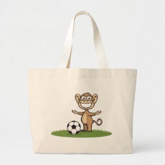 Le football de singe sac en toile jumbo