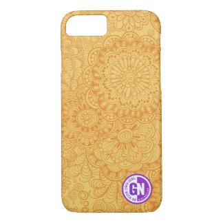 Le griffonnage fleurit la caisse de l'iPhone 6/6s Coque iPhone 7