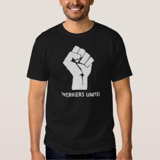 Le meilleur Twerkers noir et blanc unissent ! Tee Shirts