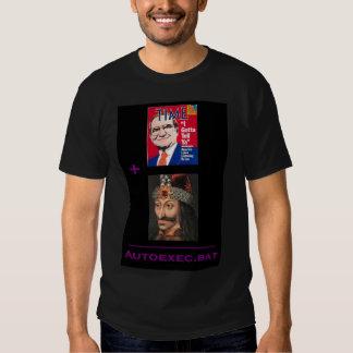 Le nouveau code de vamp tee shirt