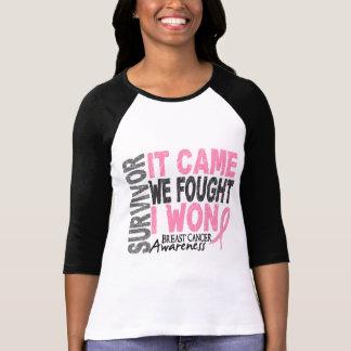Le survivant de cancer du sein qu'il est venu nous tee shirts