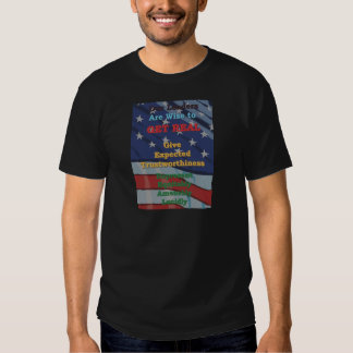 Leaders wise to GET REAL T-shirts