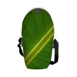 Leaf of banana tree commuter bag