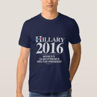 L'épouse des ex-amis de Monica - anti Hillary Tee Shirt