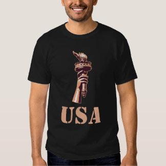 Les Etats-Unis, torche de la liberté T-shirt