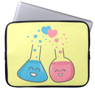 Les flacons mignons dans l'amour, nous avons la ch trousses pour ordinateur portable
