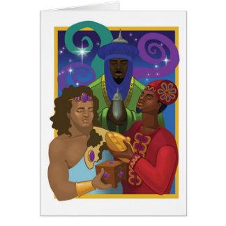 Les trois rois carte de vœux