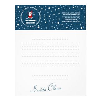 Letter from Santa Claus. Custom Letterheads Letterhead Template