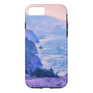 Lever de soleil de côte de l'Orégon dans le quartz Coque iPhone 7