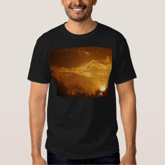 Lever de soleil tshirts