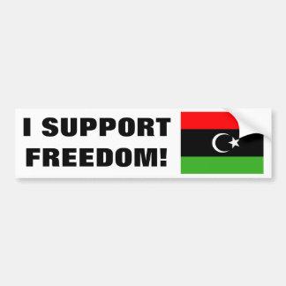 Libyan Rebel Flag Bumper Sticker