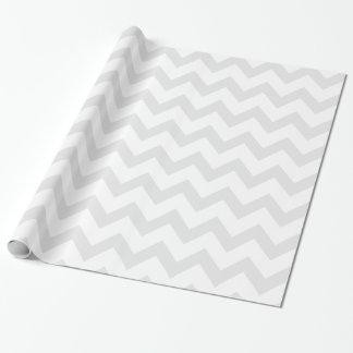 Light Gray and White Chevron Pattern