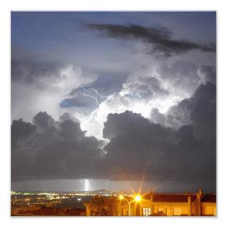 Lightning from Sardinia - Italy Photo