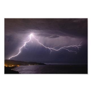 Lightning over Pacifica Art Photo