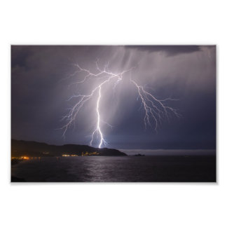 Lightning over Pacifica Photo
