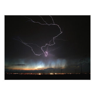 Lightning over Ridgecrest Photograph