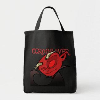 Lil devil grocery tote bag