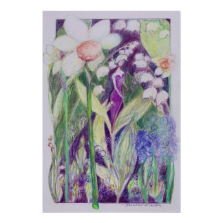 lily of the valley-elve poster