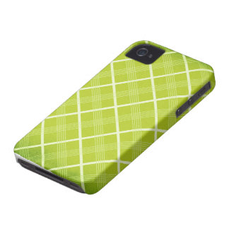 Lime Argyle Blackberry Phone Case