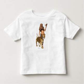 Lion Girl Toddlers T-shirt