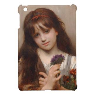 Little Girl Flower Seller iPad Mini Covers