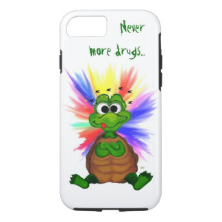 Little Turtle , Never more drugs… iPhone 7 Case