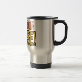 Live For Blue Cheese 15 Oz Stainless Steel Travel Mug