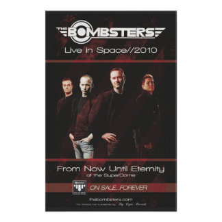 Live In Space 2010 Poster