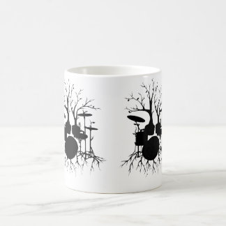Live the Beat to the Tempo of Creation ~ drum Classic White Coffee Mug