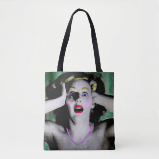 Liz is horrified and terrified tote bag