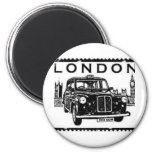 London Taxi 2 Inch Round Magnet