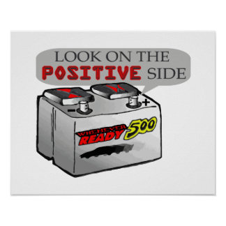 Look On Positive Side Poster