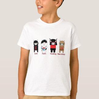 Love Faith Healing New Jersey T-shirt
