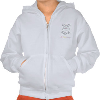 Love, Peace and Courage Hoodie
