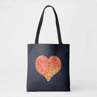 LOVE - Shiny Pink Gold- All-Over-Print Tote Bag