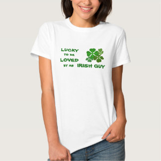 Lucky to be Loved Irish Tees