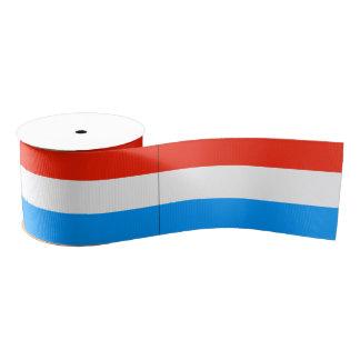 Luxembourg Grosgrain Ribbon